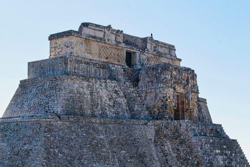 majowie świątyni ruiny w Yucatan zdjęcia royalty free