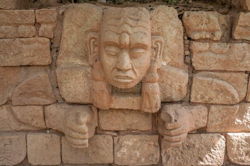 Majowie głowa obraz royalty free