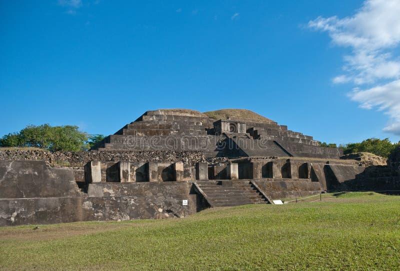 Majowie ruiny zdjęcia royalty free