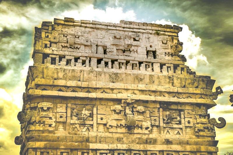 Majowie ruiny przy Chichen Itza fotografia royalty free