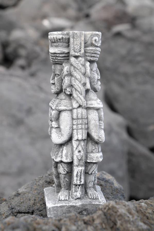 Majowie statua obrazy stock