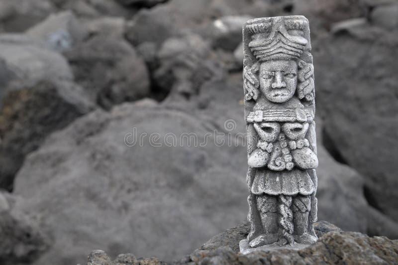 Majowie statua fotografia royalty free