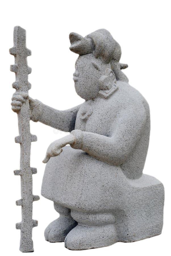 majska statua obraz stock
