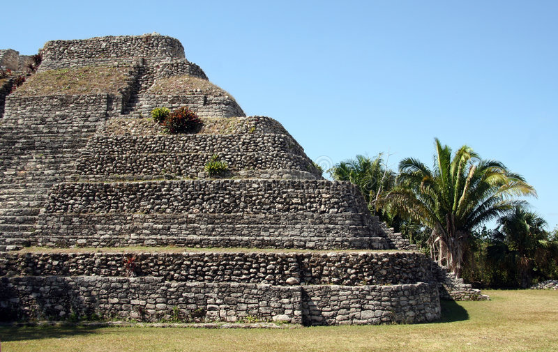majska zrujnuję Meksyk obraz royalty free