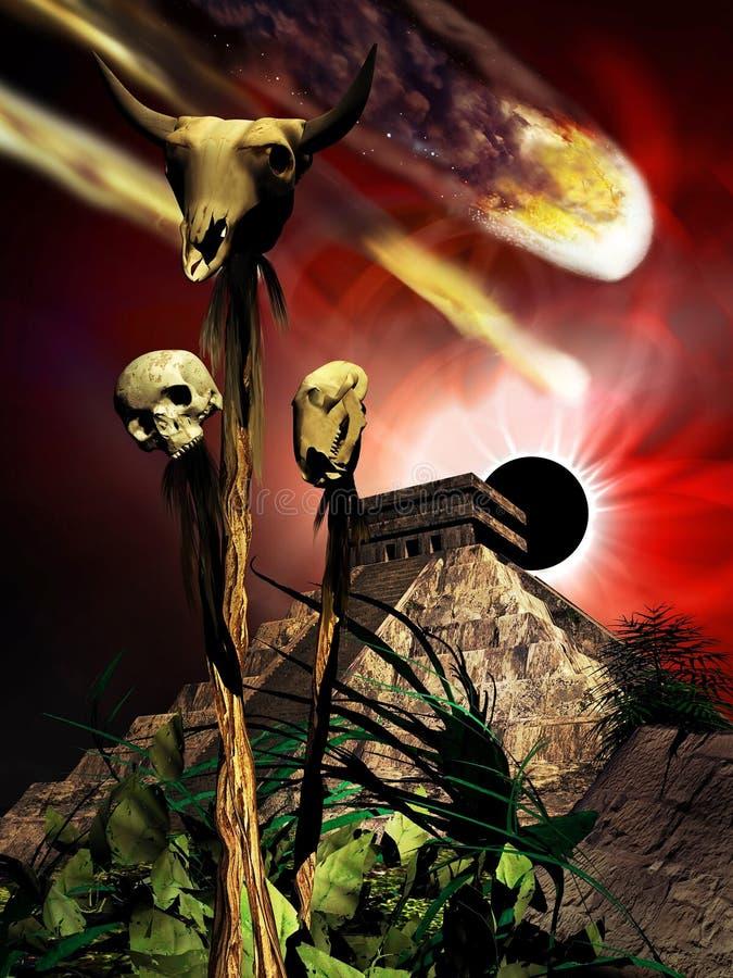 Majski apocalypse ilustracji