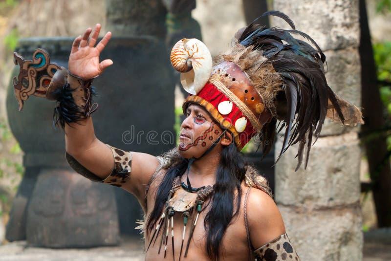 majski szaman zdjęcia stock