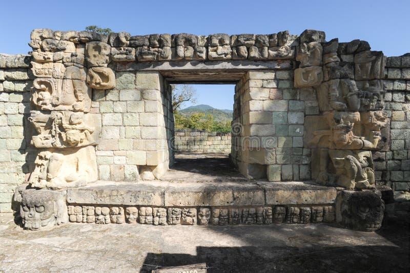 Majskie ruiny Copan zdjęcie stock