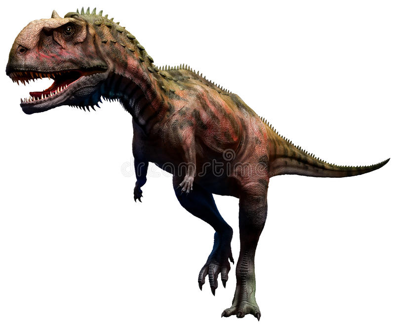 Majungasaurus ilustração royalty free