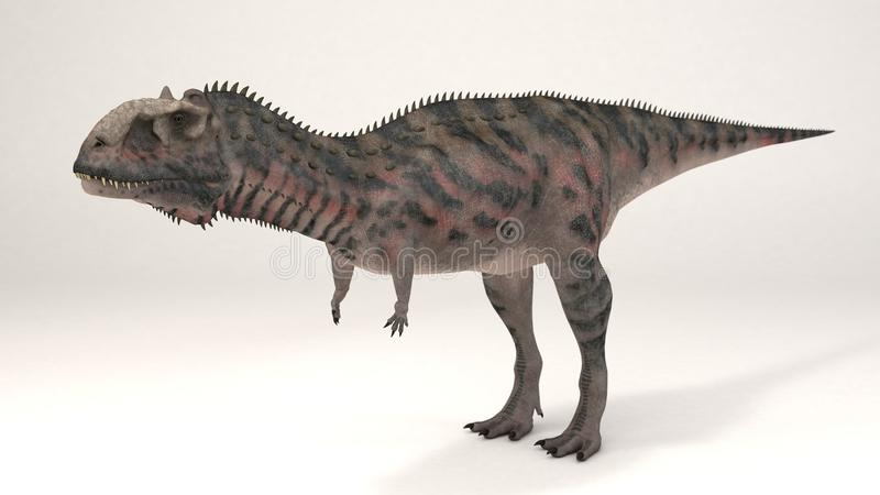 Majungasaurus-Dinosaurier stockbild