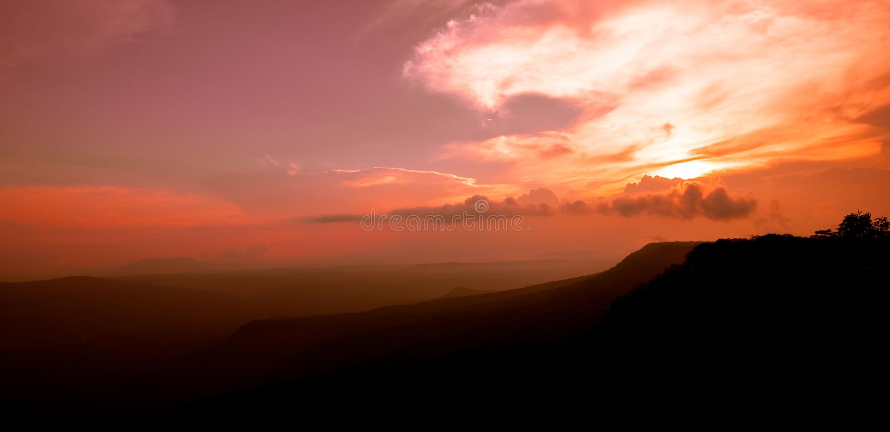 Mak Dook Cliff stock photo