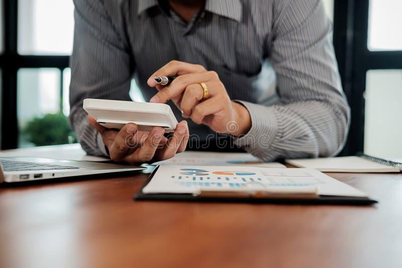 Mak för inspektör och för sekreterare för administratöraffärsman finansiell arkivbild