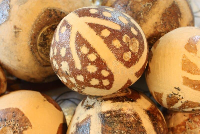 Makalani nuts stock image