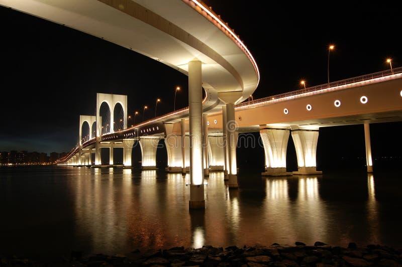 Makao mostu sai van zdjęcie royalty free