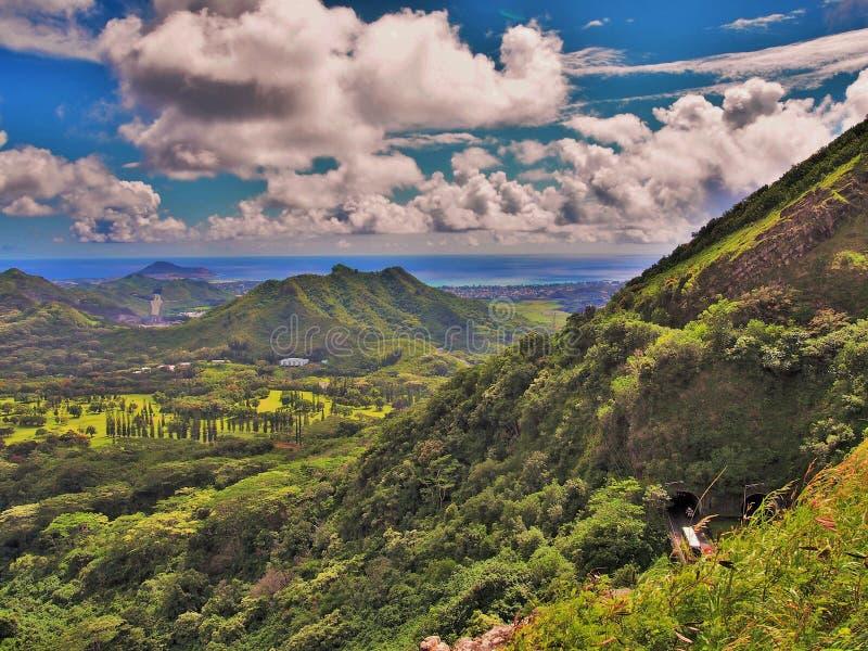 Makapu'u Dowietrzny Oahu fotografia stock