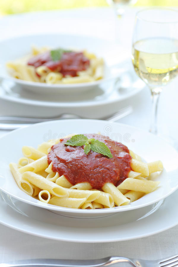 makaronu kumberlandu pomidor zdjęcia royalty free