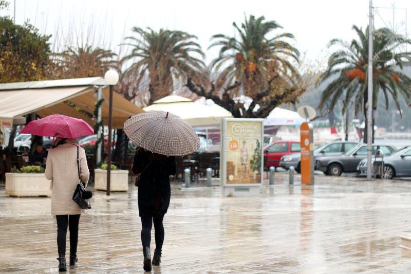Makarska, Kroatië stock afbeelding