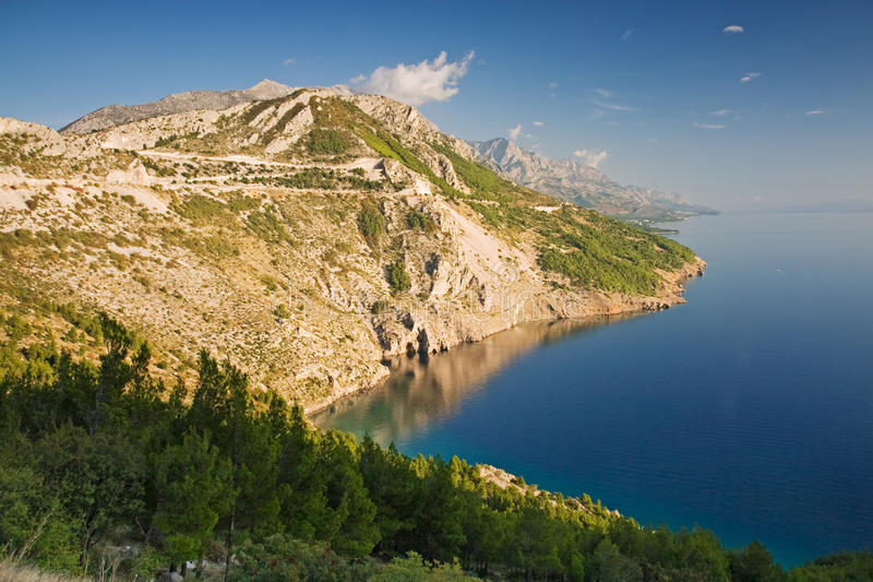 Makarska Riviera Royalty Free Stock Photography