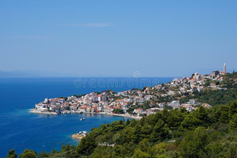 Makarska Riviera royaltyfri foto