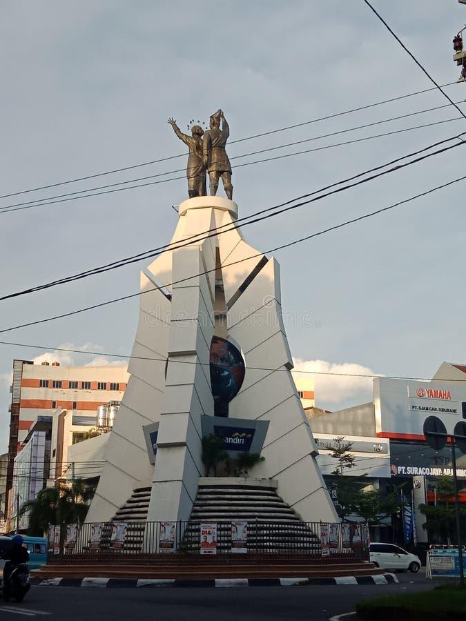 Makassarr Pahlawam стоковое изображение
