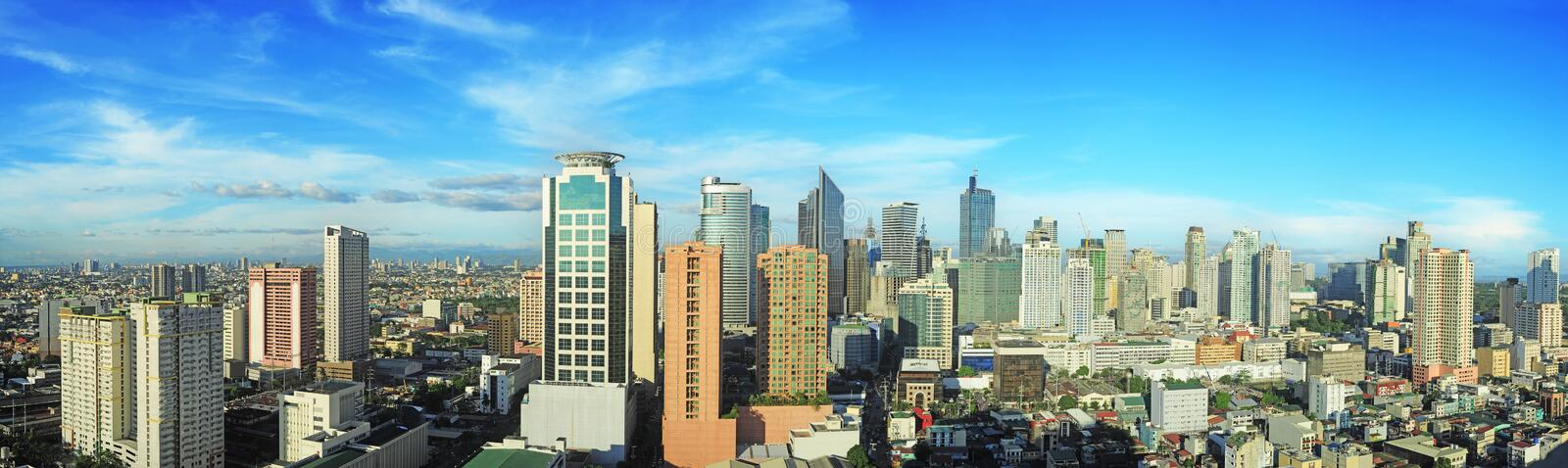 Makati city royalty free stock photo