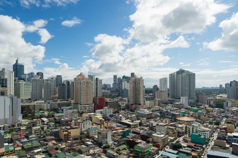 Makati, miasto Manila w południe obraz stock