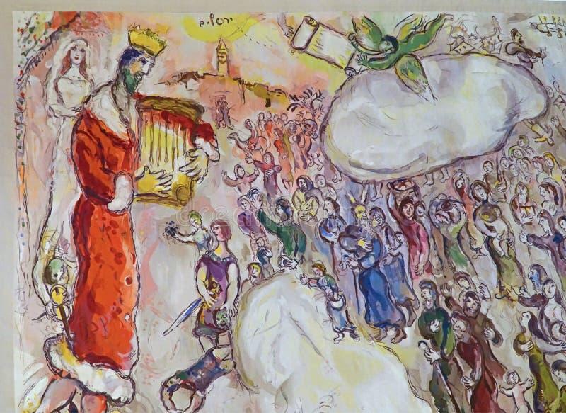 Makaty Marc Chagall obraz stock
