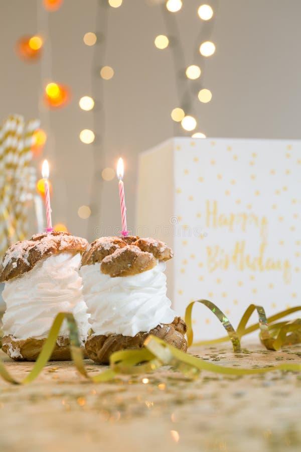 Make a birthday wish stock photography