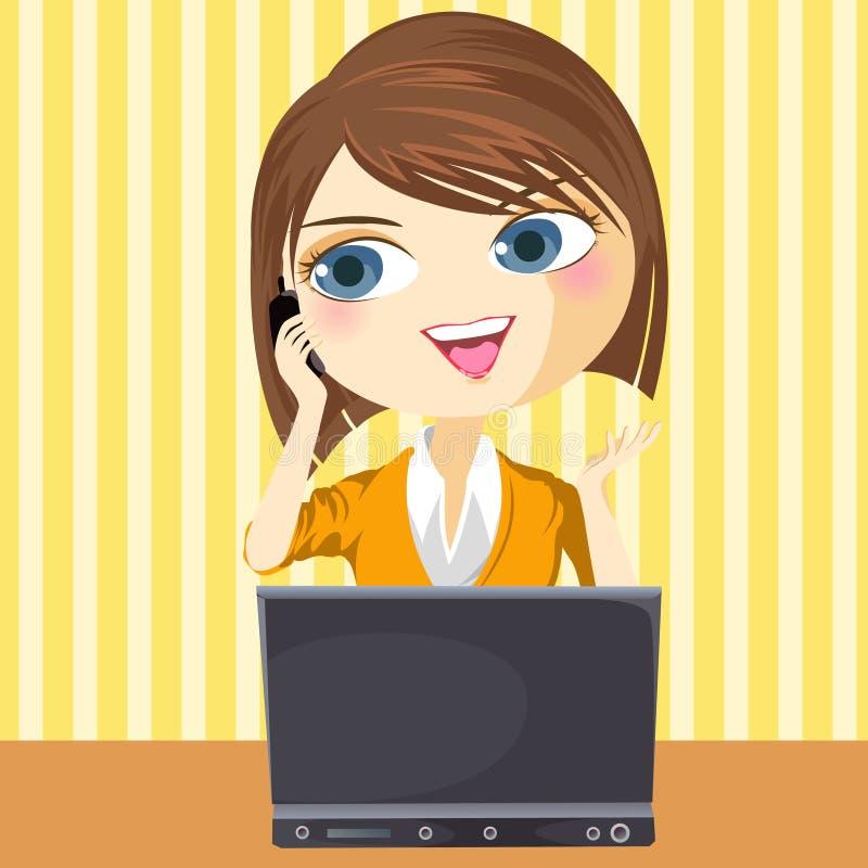 Make Call stock illustration