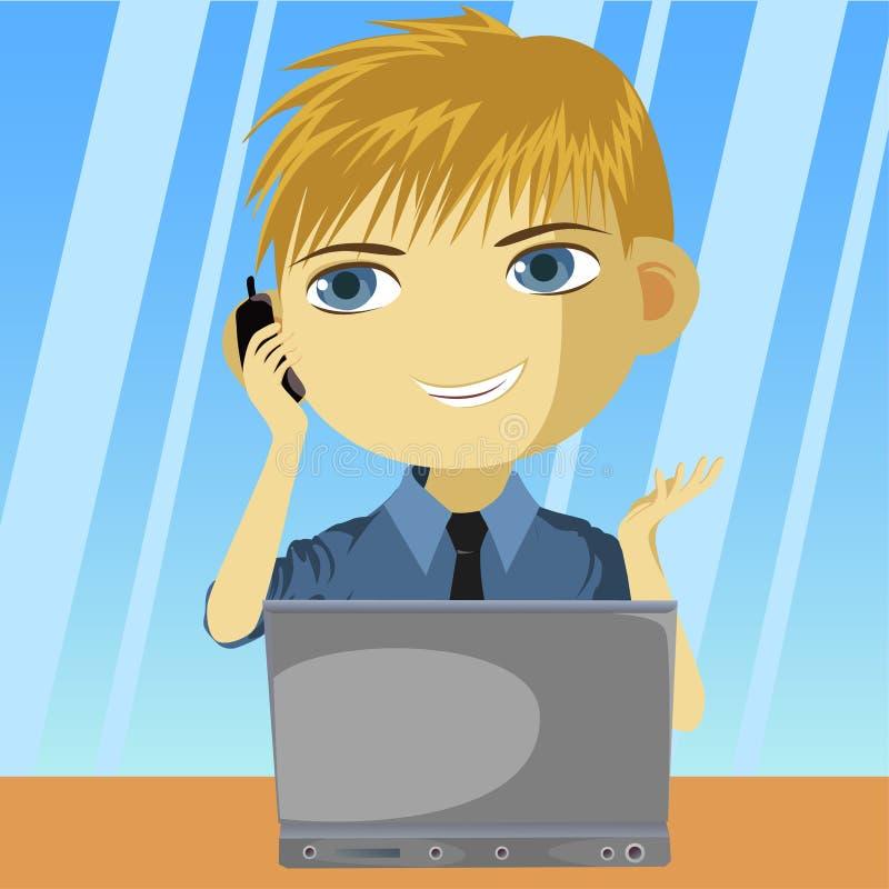 Make Call vector illustration