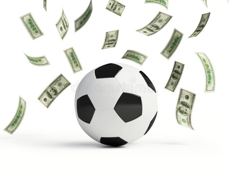 Download Make money on football stock illustration. Image of pattern - 19200365