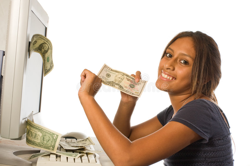 Download Make Money From The Internet Royalty Free Stock Image - Image: 6276536