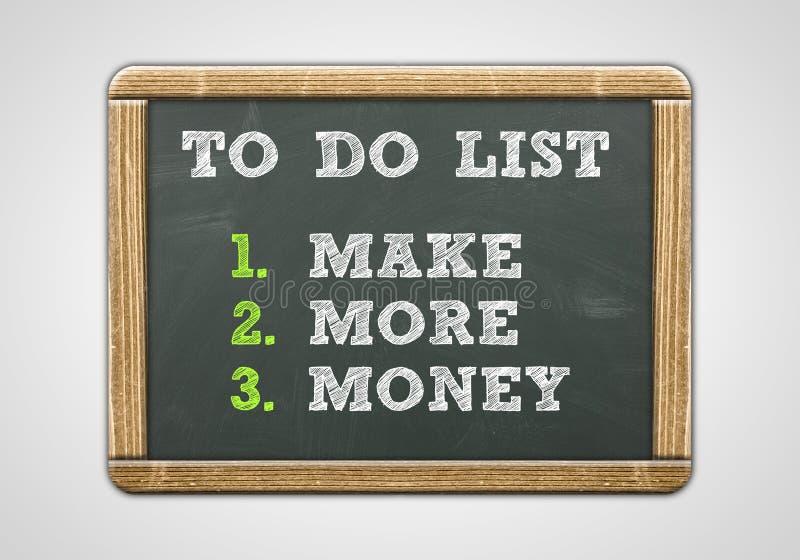 Make More Money stock photography