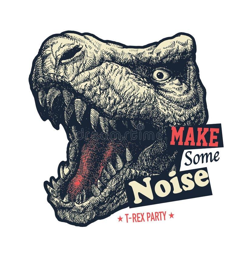 Free Make Some Noise Slogan Graphic Stock Image - 125022001