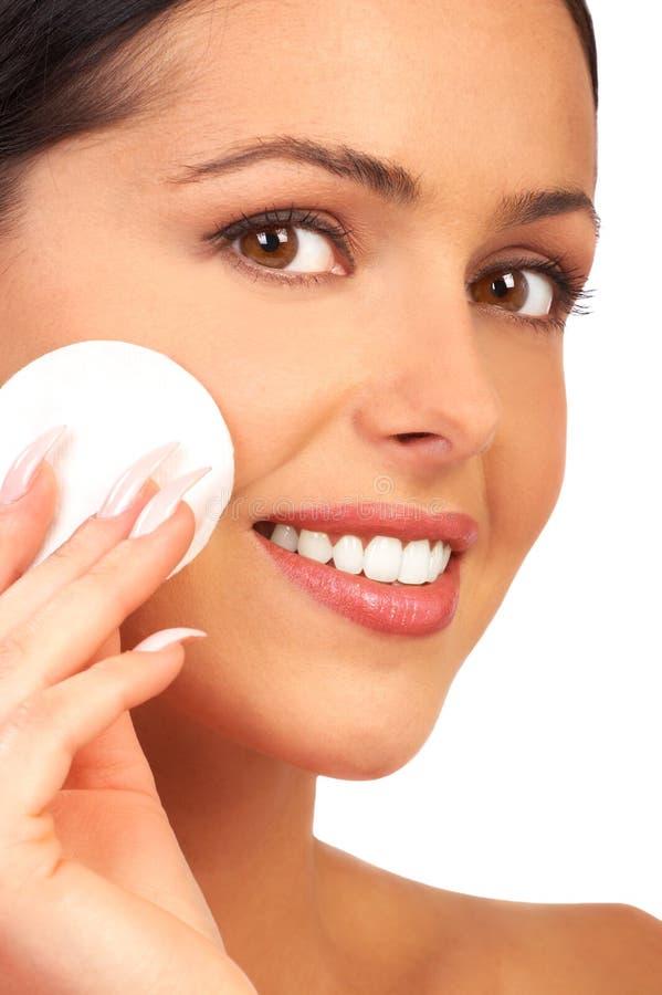 Make-up. royalty-vrije stock afbeelding