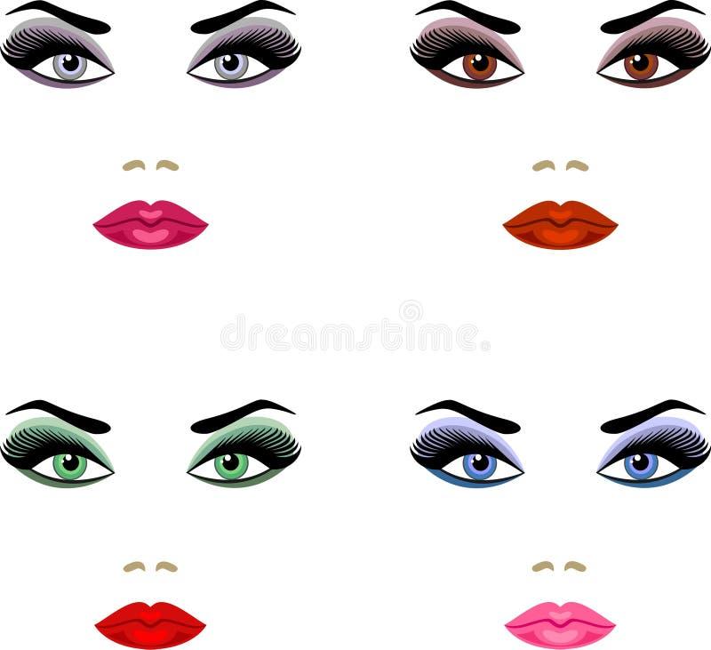 Make-up stock illustratie