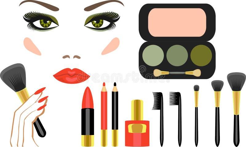 Make-up vector illustratie