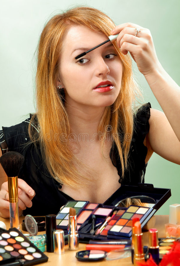 Make-up Royalty Free Stock Images