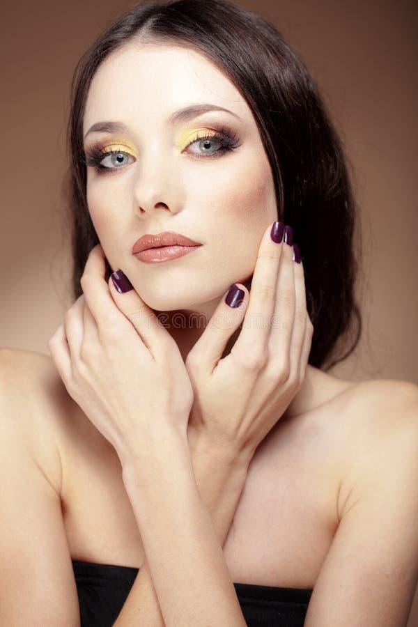 Make-up stock foto