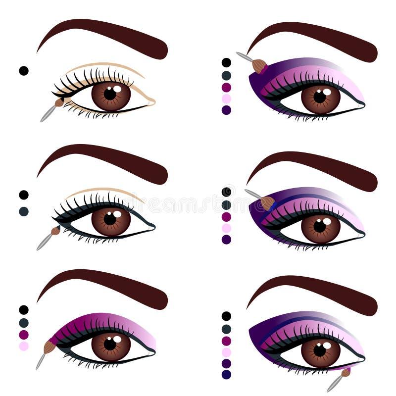 Make-up stock abbildung