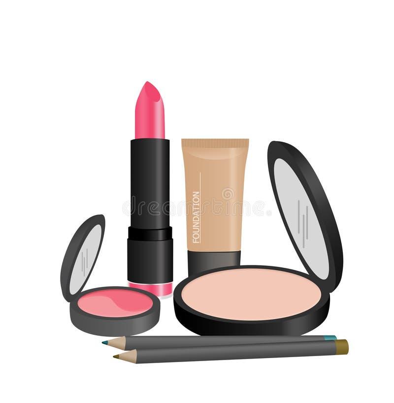 Make-up lizenzfreie abbildung