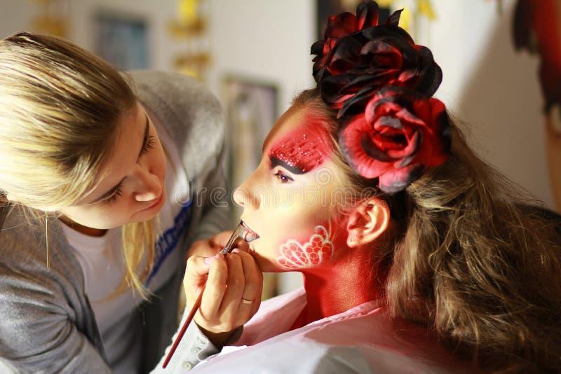 Make-up stockbilder