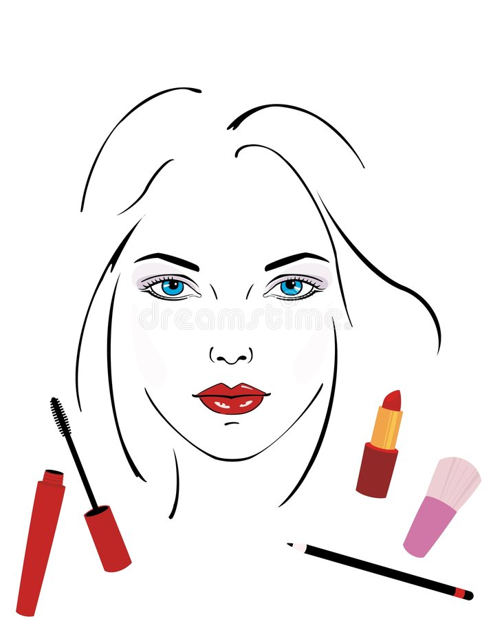 Download Make-up stock vector. Image of elegance, appearance, style - 4363847