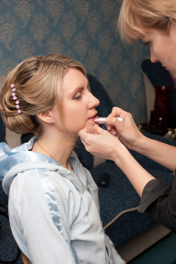 Download Make-up stock image. Image of beautician, cosmetic, stylish - 9220093