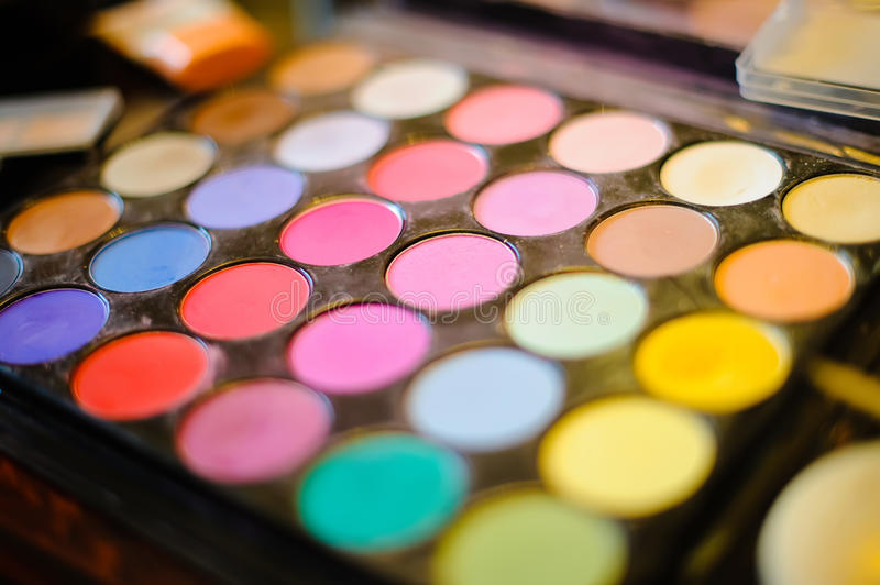 Make-up accessories stock images