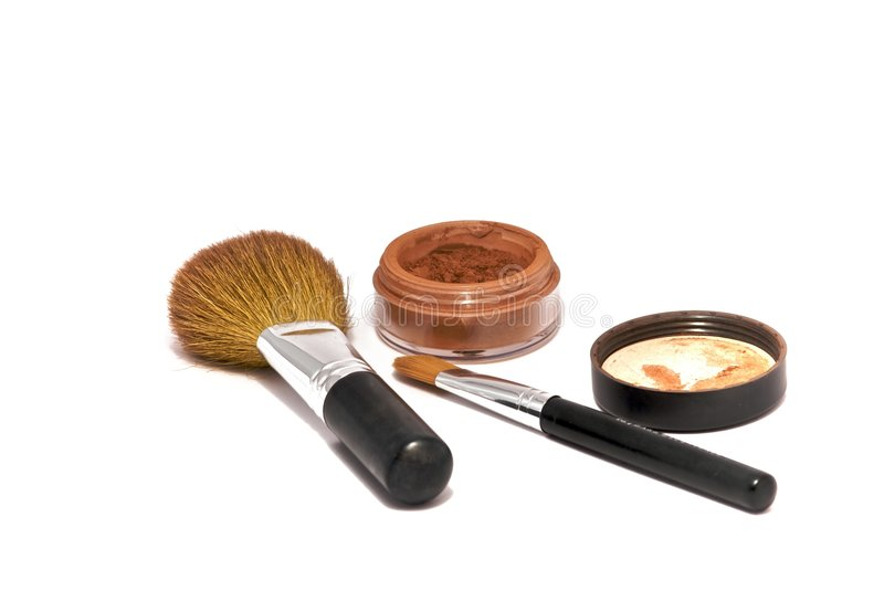 Download Make-up Accessories stock photo. Image of applicator, nature - 8616130
