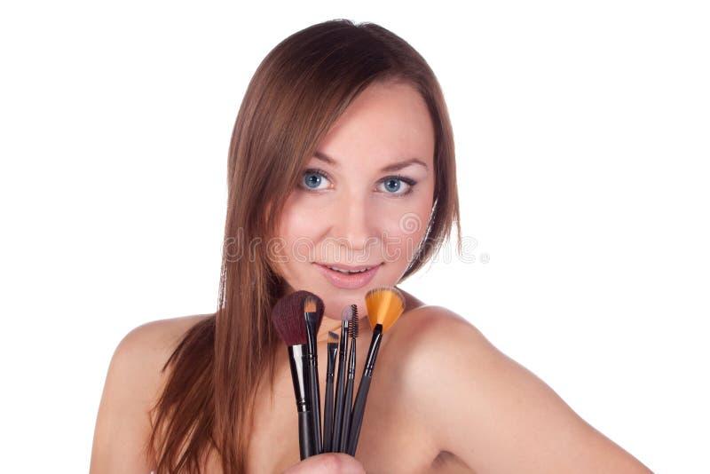 Download Make-up, Apply, Tools, Brush Stock Photo - Image: 24379364