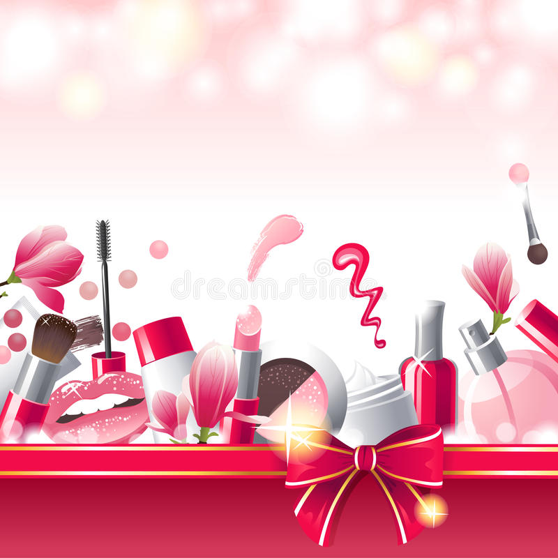 Make-up Background Stock Images