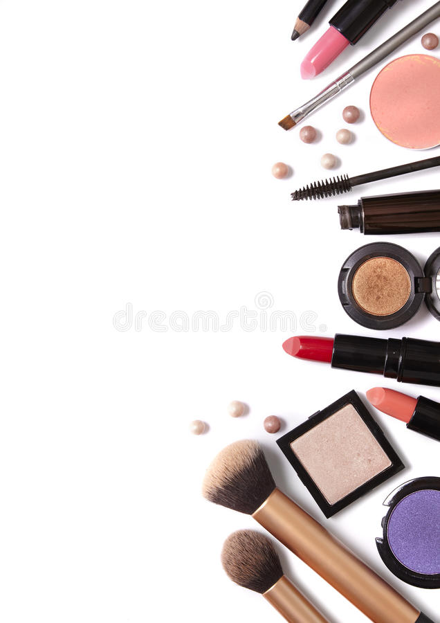 make up border stock image image of lipstick blush 70795381 rh dreamstime com