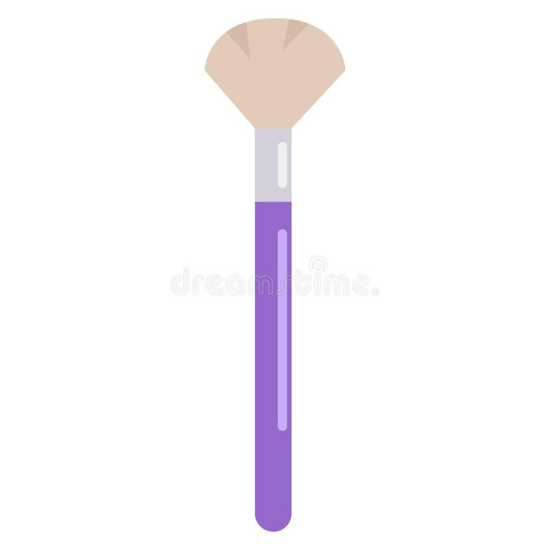 Make-up brush icon, vector illustration vector illustration