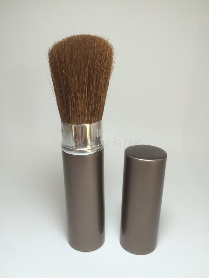Make up brush royalty free stock photo